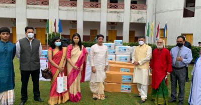 কুমুদিনী হাসপাতালকে অ্যাম্বুলেন্স ও চিকিৎসা সামগ্রী দিল ভারত