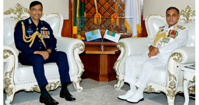 New Air Chief calls on Naval Chief