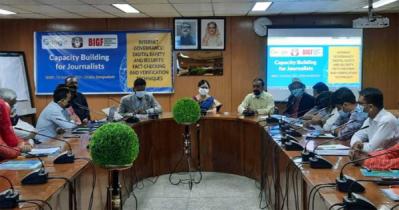 Internet governance, digital Safety,fact-checking held
