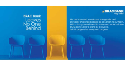 BRAC Bank welcomes transgender, physically challenged to its team