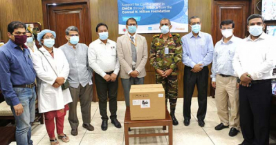 icddr,b donates COVID-19 medical supplies to DMCH
