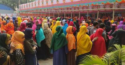 Workers of 3closed factories of Adamjee & Dhaka EPZ get dues