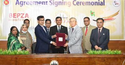 BEPZA signs US$ 12m investment agreement with two foreign Cos