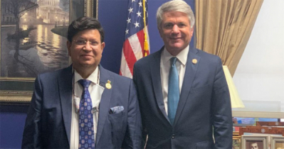 Momen holds meetings with US Chamber,lawmakers,climate envoy