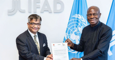 IFAD chief praises Bangladesh for project implementation capacity