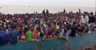 লক্ষীপুরের লঞ্চ-ফেরিঘাটে গার্মেন্টস শ্রমিকদের ভিড়