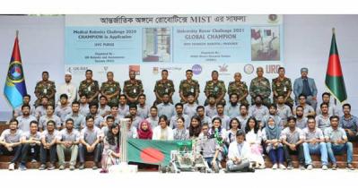 MIST wins University Rover Challenge Global Championship