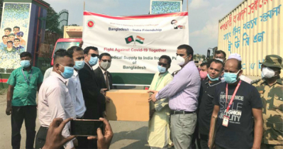Bangladesh sends 2nd consignment of medical assistance to India