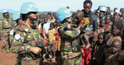 BD stresses for sufficient and sustained peacekeeping budget