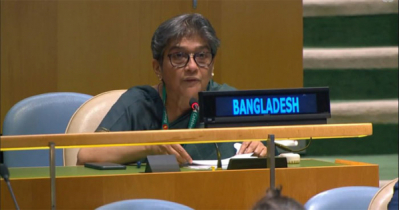 Bangladesh expresses disappointment over UNGAresolution on Myanmar