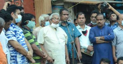 দুর্গোৎসবে হামলার প্রতিবাদ চট্টগ্রামে