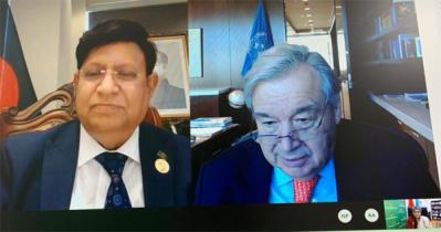 UN SecGenlauds Bangladesh's COVID mitigation efforts