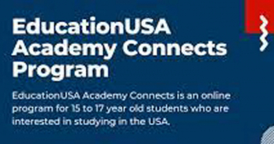 US Embassy encourages youth to join EducationUSA Connects Program