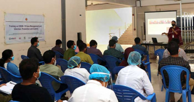 USAID's COVID-19 Emergency Response gives training to doctors and nurses