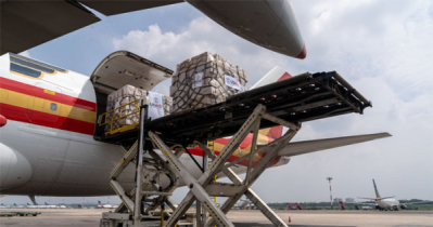 US delivers 2nd shipment of medical supplies to combat Covid-19