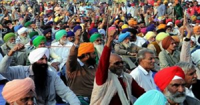 বিক্ষোভের শততম দিনে ভারতের কৃষকদের সড়ক অবরোধ