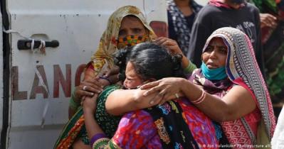 ভারতে শনাক্তের হার কমছে, ২৪ ঘন্টায় ৩.২২ শতাংশ
